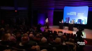 Montreal elections 2017: Coderre, Plante debate