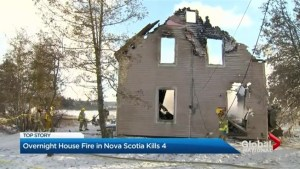 Children killed in smalltown Nova Scotia house fire