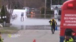 Emergency evacuations in Sainte-Marthe-sur-le-Lac as dam breaks