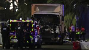At least 77 dead after truck drives into crowd in France