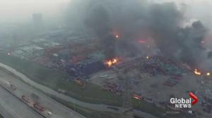 Chinese government pledges to punish those responsible for Tianjin blast