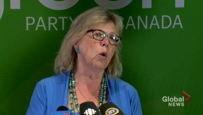 Elizabeth May reveals Green Party transition plans for fossil fuel workers