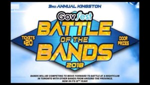 A preview of GovFest: Battle of The Bands, an evening of live music featuring government employees