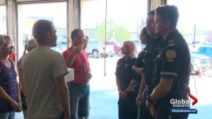 Edmonton paramedics reunited with critical patient