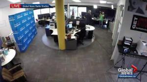 Historic launch of Global News Radio 880 Edmonton