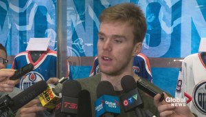 Oilers captain Connor McDavid year-end interview