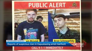Police investigate report of  2 'suspicious' men in Ontario as search for B.C. suspects continues