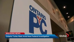 Ontario Tories meet amid new federal investigation