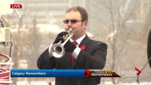 Calgary's Field of Crosses Remembrance Day ceremony coverage by Global News