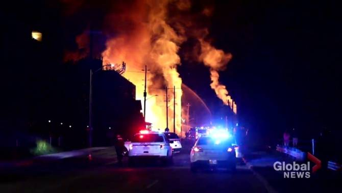 Millions in damages after fires break out in Oshawa