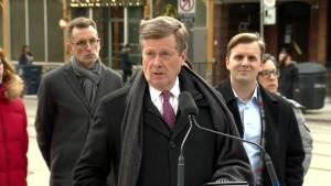 John Tory announces King St. streetcar pilot project will become permanent
