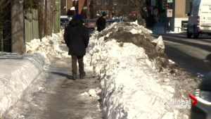 Don't put away the shovels just yet, Montreal