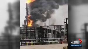 Fire breaks out at Shell Scotford Upgrader near Fort Saskatchewan