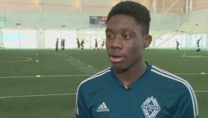 From civil war in Liberia to Canada's U-20 soccer team