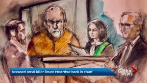 Alleged serial killer Bruce MacArthur makes court appearance