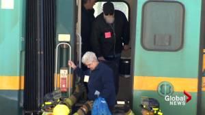 2 cars derail on Via Rail train northwest of Moncton
