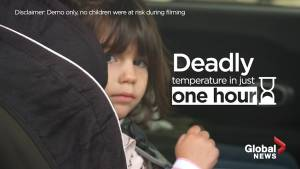 Kids in hot cars: How long does it take before it becomes deadly?