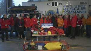 North Shore Rescue on $10-million funding announcement