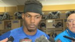 RAW: Bombers' Dominique Davis following loss to Tiger-Cats