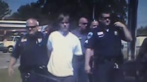 Dashcam video shows arrest of alleged Charleston gunman Dylann Roof