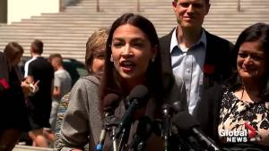 Ocasio-Cortez says it was 'literally easier' to get elected to Congress than to pay off student debt