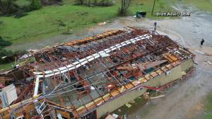 Two possible tornadoes hit Lee County and Smith Station, Alabama