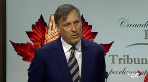 Maxime Bernier defends failure to condemn New Zealand tragedy
