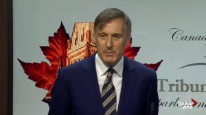 Maxime Bernier says his party won't do 'anything special' to attract diverse candidates