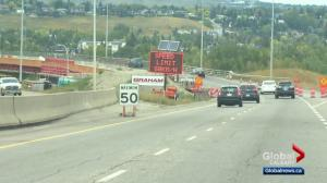 Calgary police see giant leap in construction zone speeding tickets