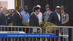 Thousands gather for Muhammad Ali's funeral