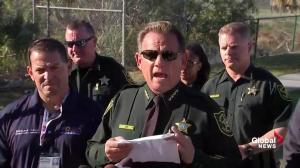Broward County Sheriff say suspect didn't have gas mask, smoke grenade