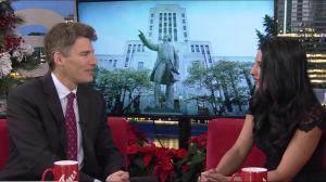 Mayor Gregor Robertson on Vancouver's housing crisis
