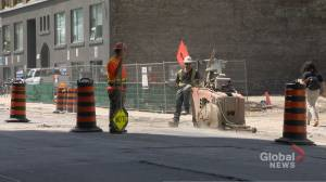 Year-long construction project kicks off on Richmond Street West