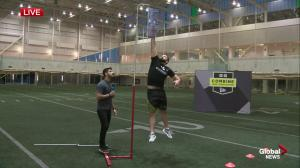 Top Canadian football prospects at CFL Combine in Edmonton