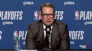 Nick Nurse says series against Milwaukee 'totally different style'