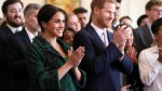 Meghan Markle and Prince Harry enjoy maple taffy, receive baby gifts on visit to Canada House