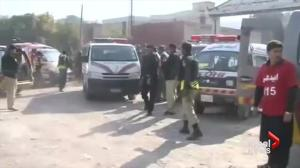 Gunmen dressed in burqas attack college in Pakistan