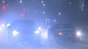City of Toronto responding to first major snowfall of the season