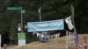 City of Burnaby eviction order for Kinder Morgan pipeline protest camp