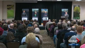 Alberta Party leadership candidates square off at debate in Edmonton