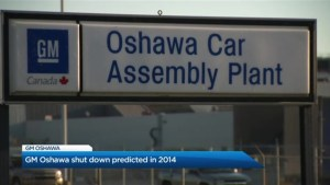GM's decision to close its Oshawa facility was predicted in 2014