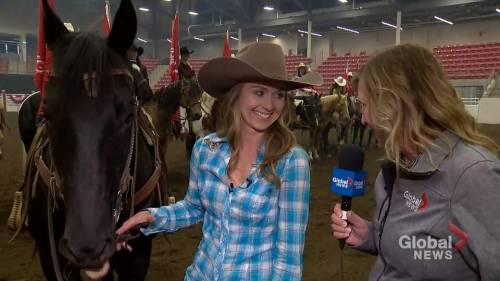 It Is An Incredible Experience Heartland S Amber Marshall Named Calgary Stampede Parade Marshall Watch News Videos Online