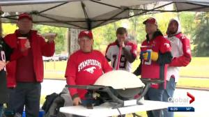Calgary Stampeders fans tailgate their way to a Labour Day Classic victory