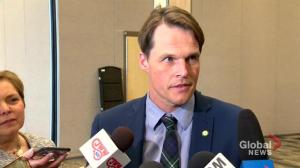 Saskatoon Mayor Charlie Clark delivers state of the city address