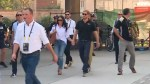 Prince Harry and girlfriend holding hands at Invictus Games
