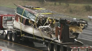 Amtrak train wreckage cleared from accident site