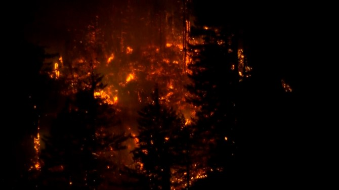 Teen ordered to pay $37 million for starting wildfire in Oregon near Columbia River