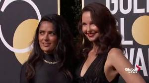 Golden Globes 2018:  Stars and activists alike dress in black on Golden Globes red carpet