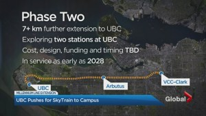 UBC offers to pay for some Broadway SkyTrain
