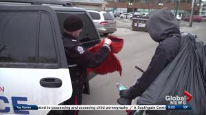 Edmonton police help homeless with Project Cape